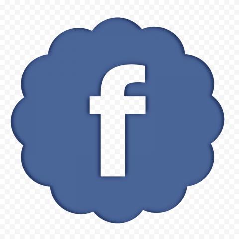 Comic Style Facebook Fb Logo Icon