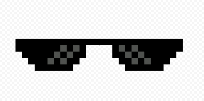 Dark Thug Life Sunglasses Logo Icon