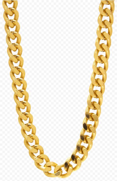 Gold Thug Life Chain