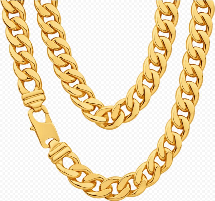 Thug Life Gold Chain