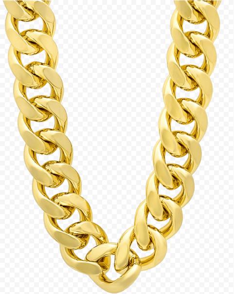 Thug Life Item Gold Chain