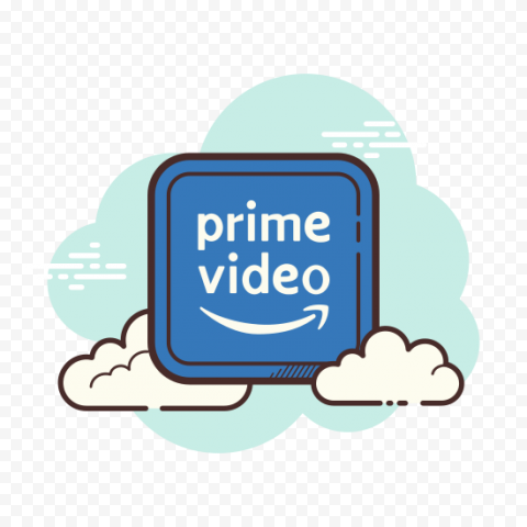 Vector Amazon Prime Video Icon