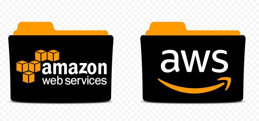 Amazon AWS Folder Illustration Icon