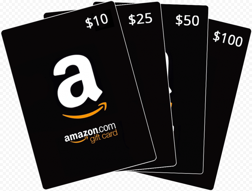 Set Of 10$ 25$ 50$ 100$ Amazon Gift Cards