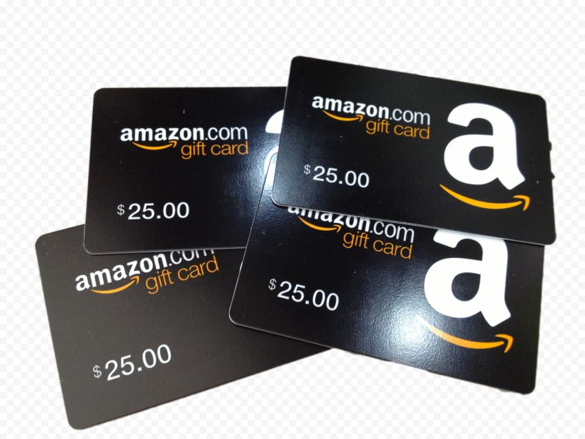 Physical 25$ Amazon Gift Cards