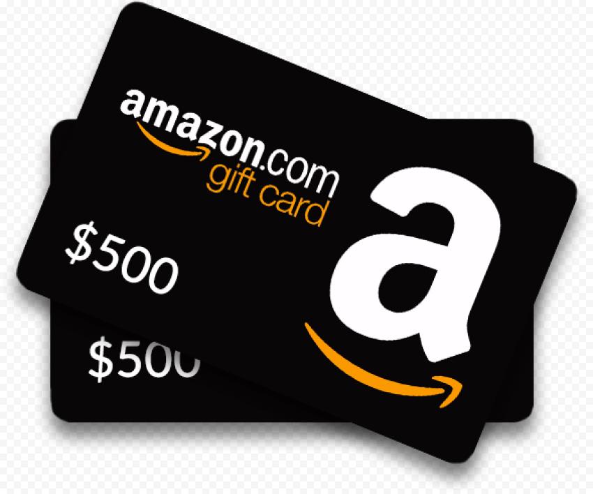 Amazon com 500$ Gift Card