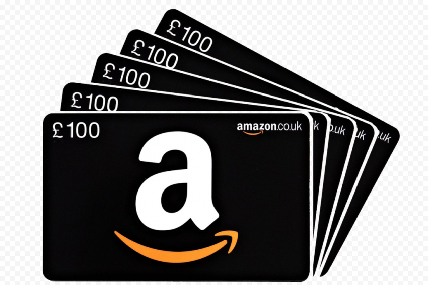 Amazon 100£ Gift Cards