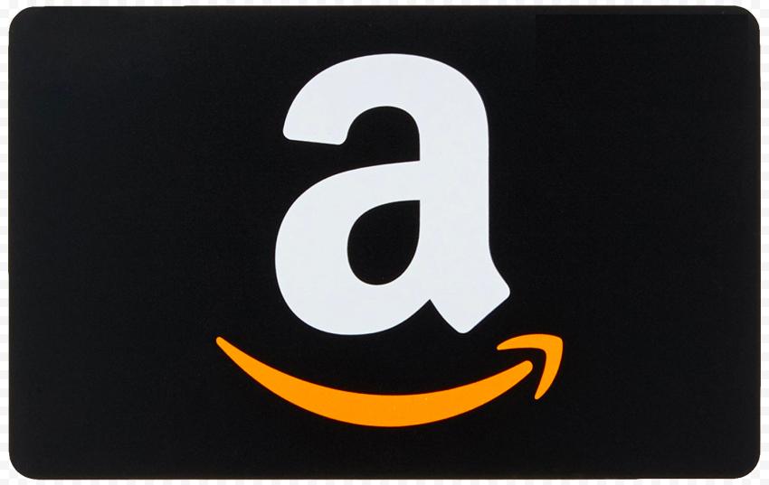 Amazon Card Shape Contains A Logo Symbol