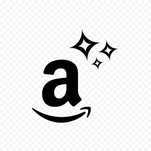 Black A Letter Symbol Amazon Store Logo Icon