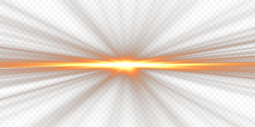 Golden Yellow Light Sunlight Energy Lens Flare Bright