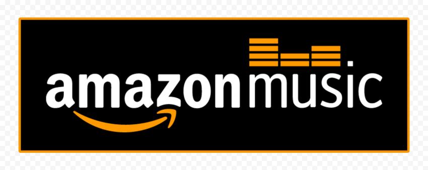 Amazon Music Logo Black Background