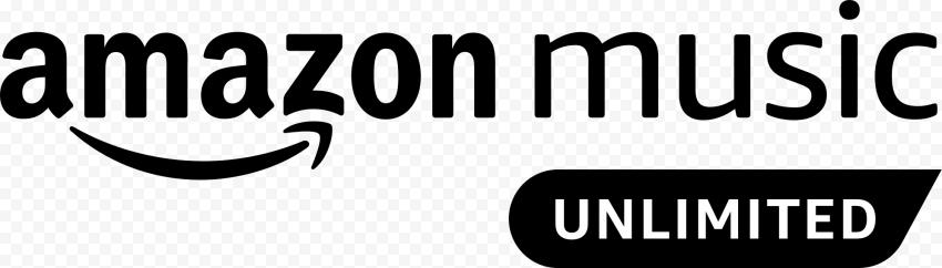 Black Amazon Music Unlimited Logo