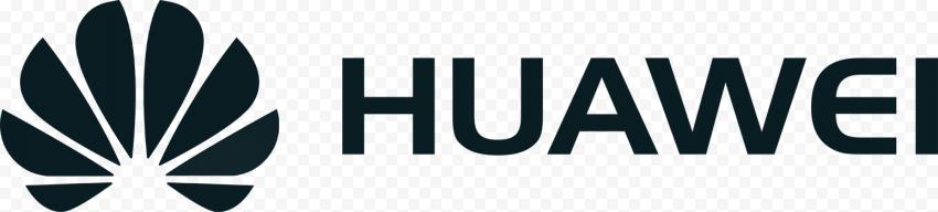 Horizontal Huawei Logo Black Version