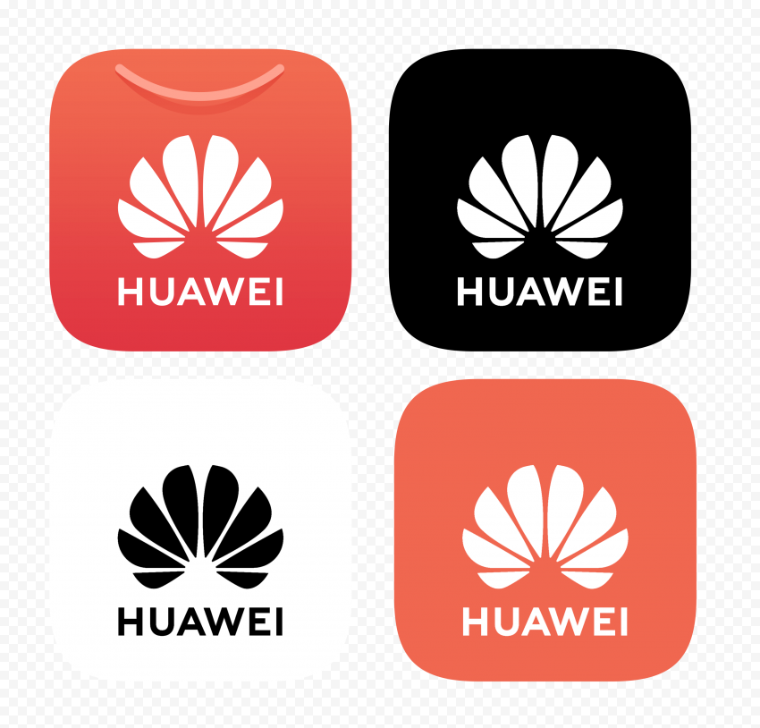 Set Of Square Huawei App Gallery Icons