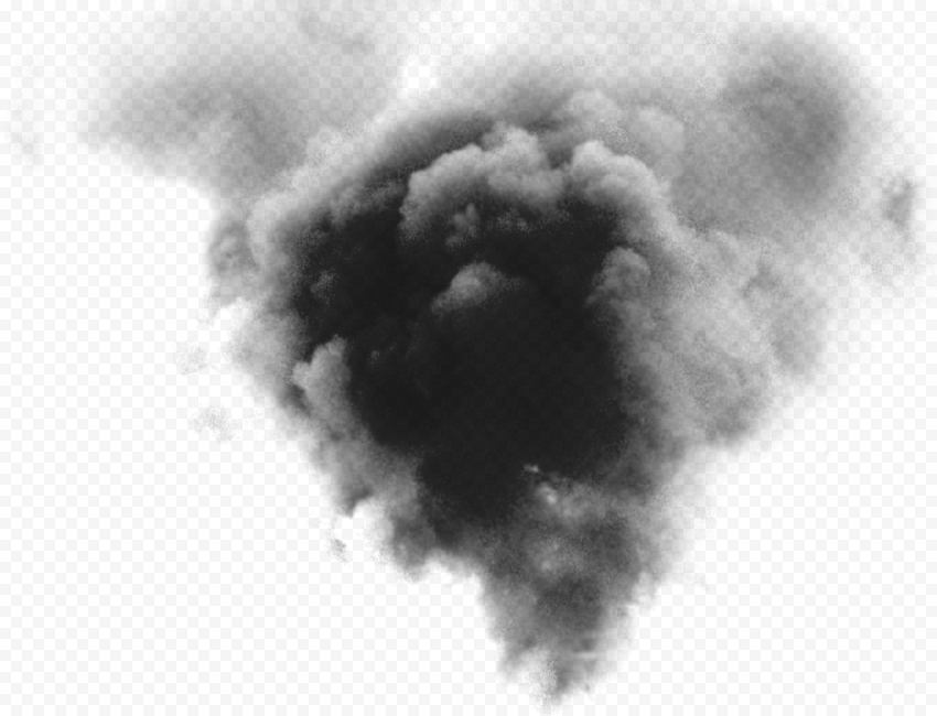 Black Smoke Explosion Effect