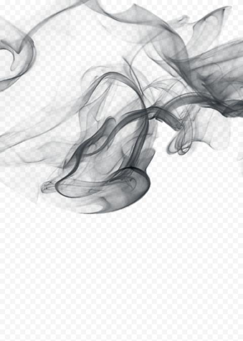 Black Light Smoke Background Effect