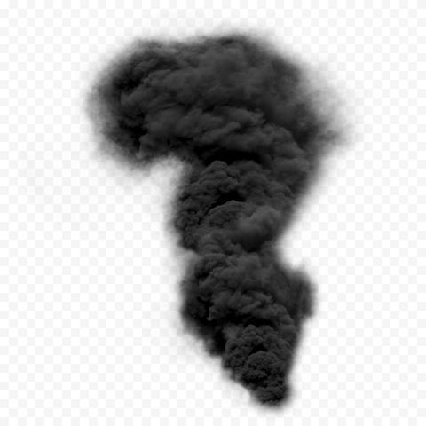 Dark Black Smoke Explosion Effect HD
