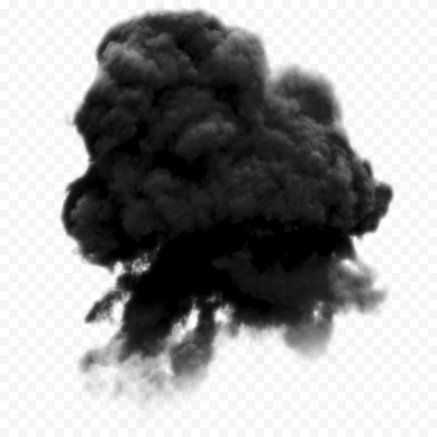 Dark Black Smoke Ball Effect