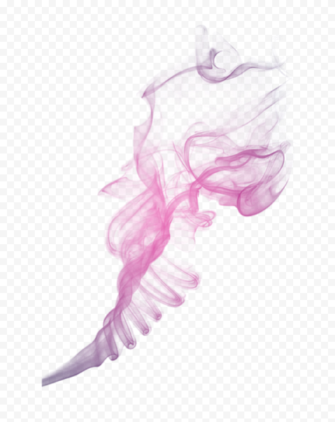 Pink Cigarette Smoke ZigZag Effect