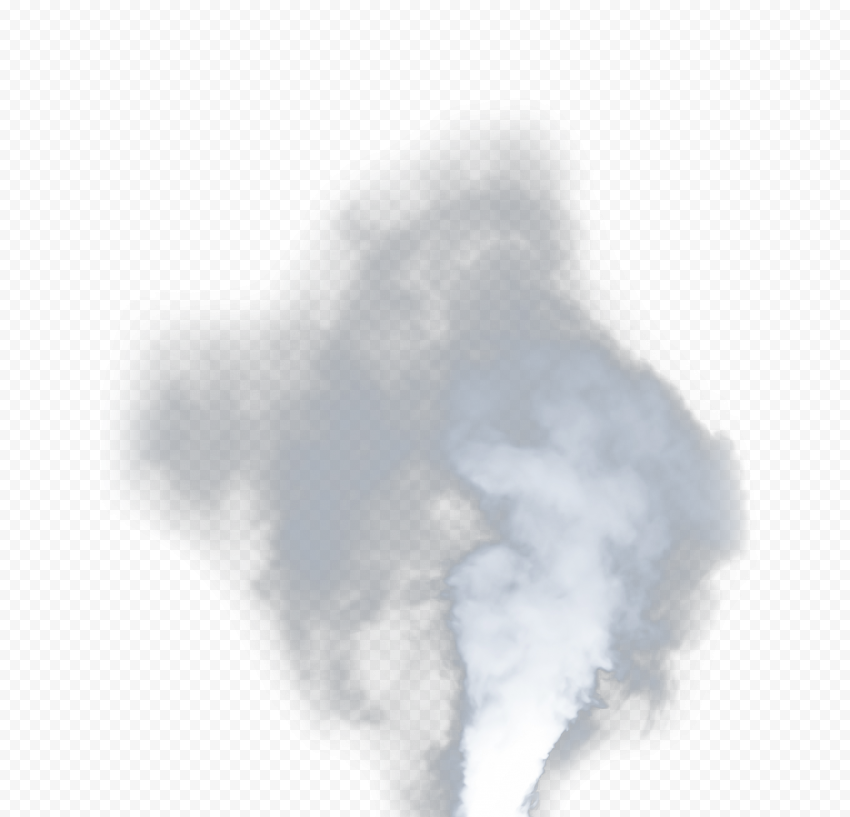 Realistic White Smoke Effect