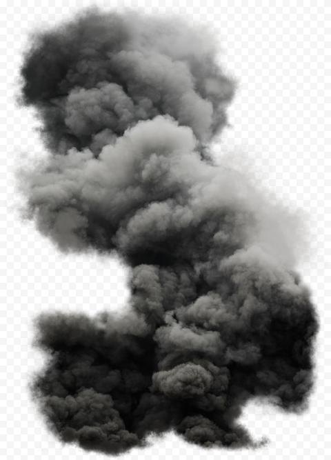 Explosion Explode Powder Grey Black Smoke