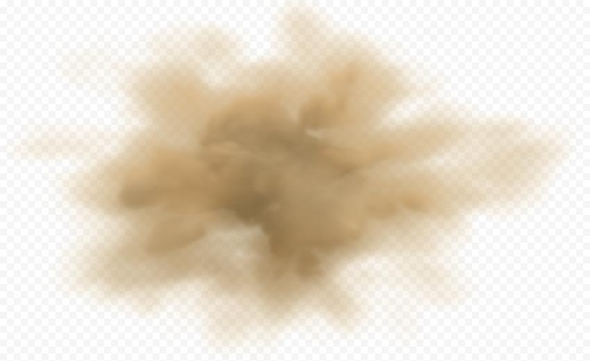 Sand Dust Brown Cloud Smoke Effect
