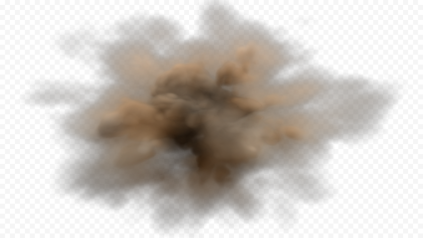 HD Sand Dust Brown Cloud Smoke Effect