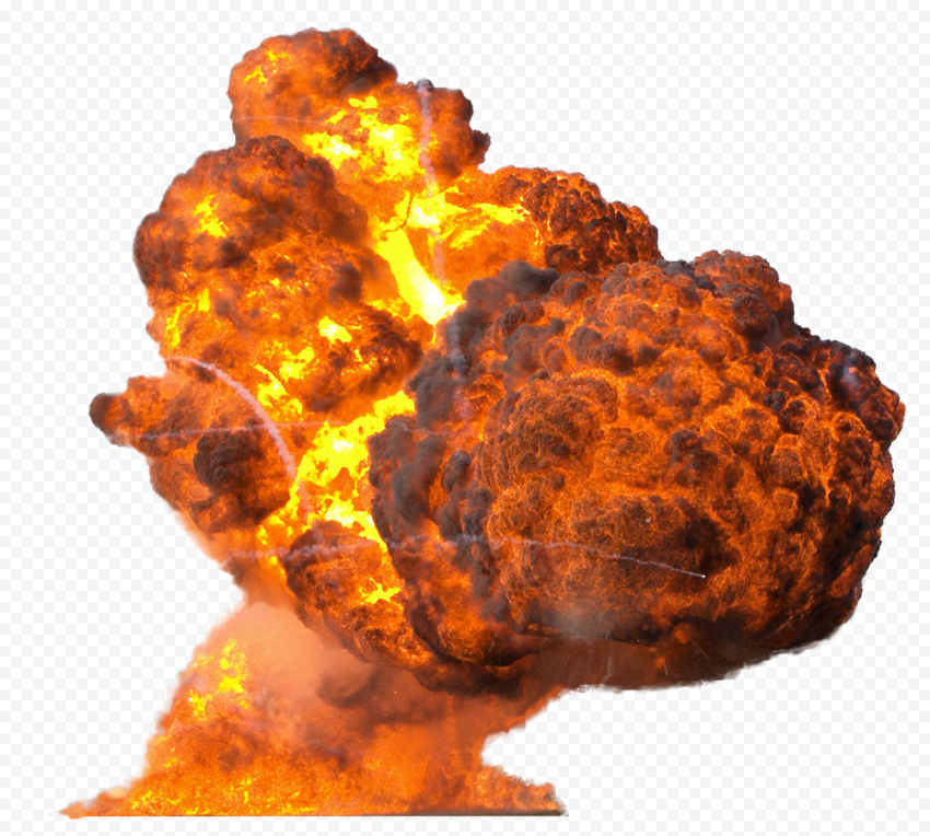 Fire Explosion Explode Mushroom Cloud Smoke