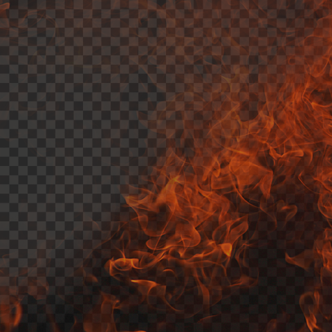 HD Fire Background Effect
