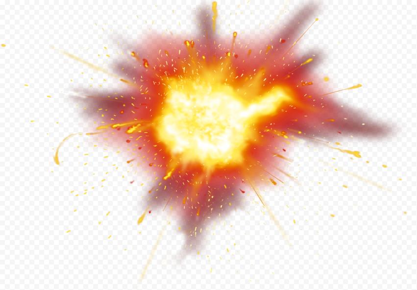 HD Fire Flame Bomb Explosion Smoke Effect