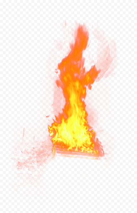 Real Flame Fire Without Smoke