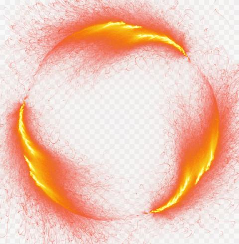 Thumbnail Effect Fire Flame Lava Tornado Round
