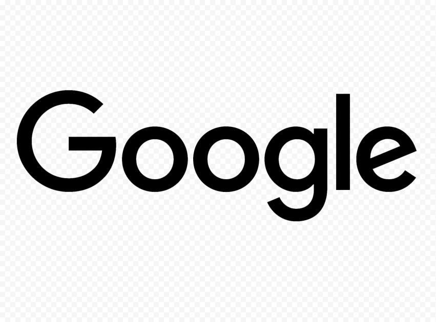 Black HD Google Logo