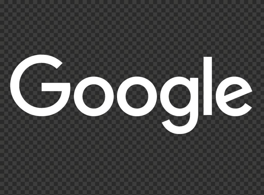 White HD Google Logo