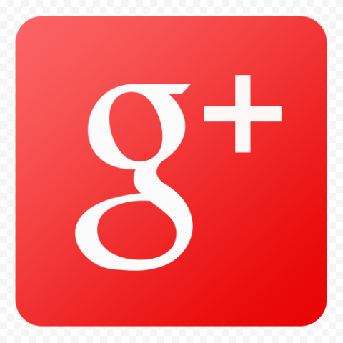Square Red Google G Plus App Icon