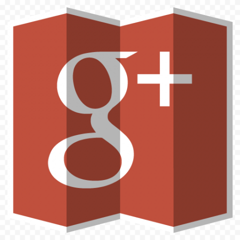 Square Google Plus G Map Style Icon