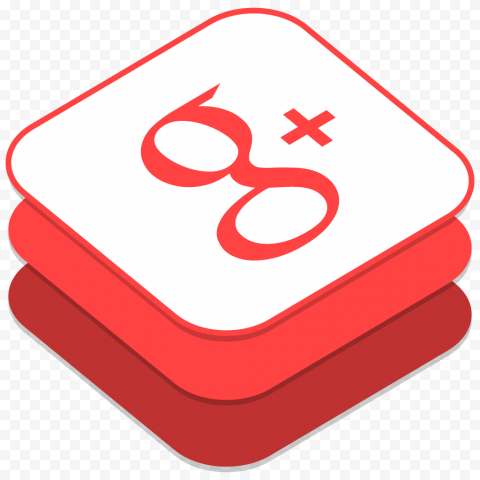 Google G Plus Social Media iOs8 Style