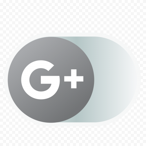 Google Plus Gray Offline Off Disabled Web Icon