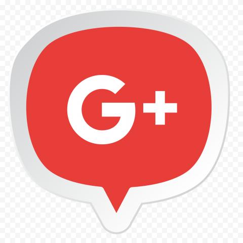 Google Plus Gplus Location Pin Style Red Icon
