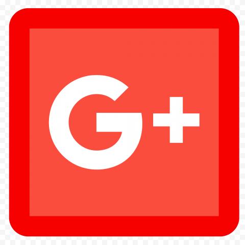 Square Red Icon Google G Plus Icon