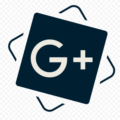 Creative Black Square Google Plus Icon