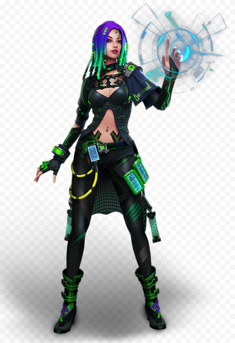 Free Fire Moco Female Character