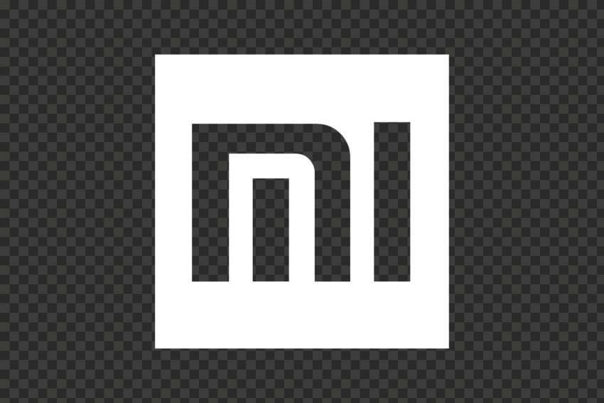 White Square Mi Xiaomi Xiomi Official Symbol Logo