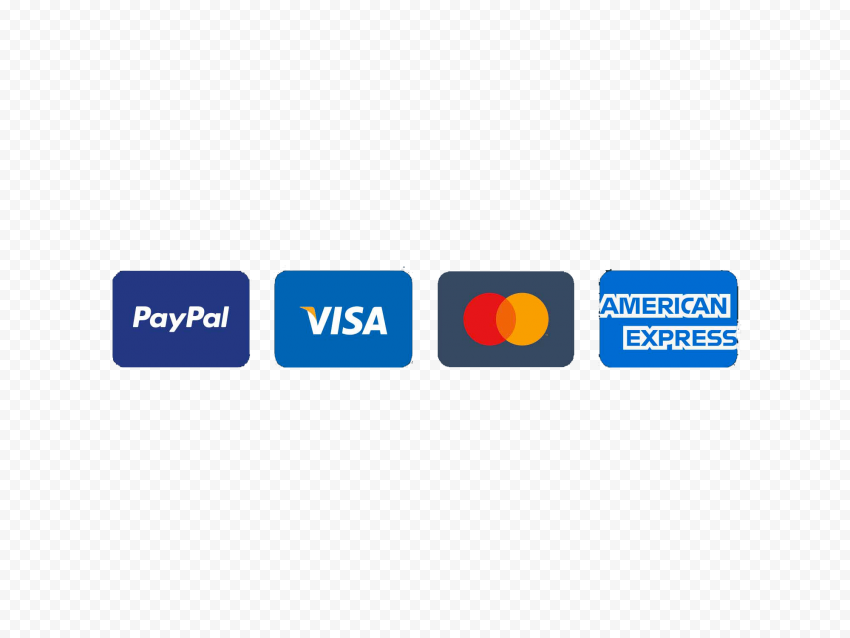 Payment Icons Paypal Visa Mastercard American  Citypng