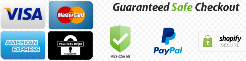 Safe Checkout Payment Icons Badge Shopify