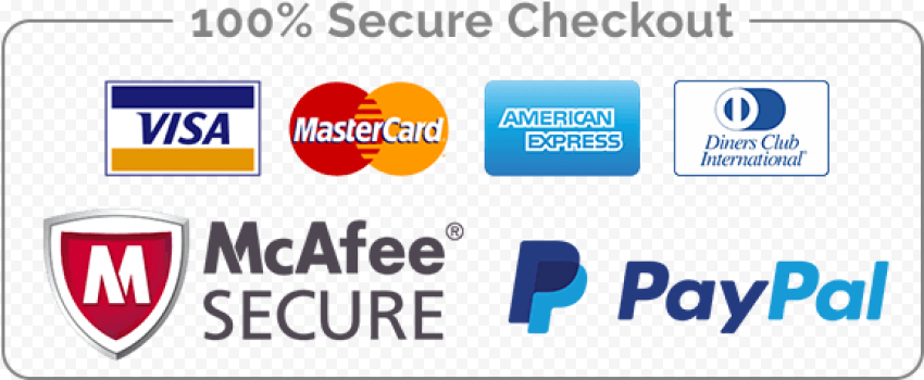 Secure Checkout Payment Badge Icons Shopify