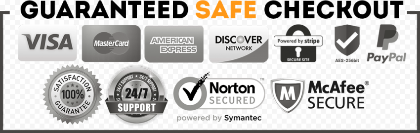 Guaranteed Secure Safe Checkout Icons Shopify