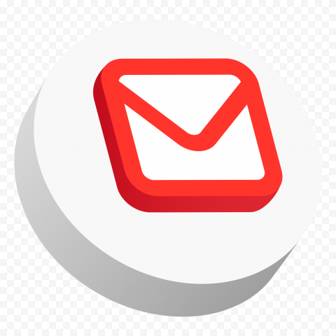 3D Google Gmail Mail Icon