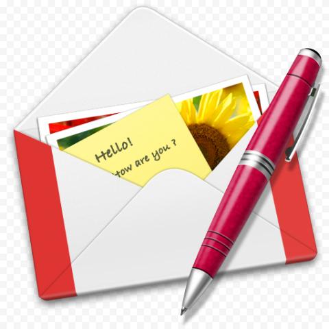 Opened Envelope Of Gmail Creative Illustration Icon