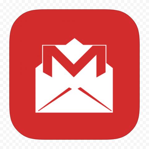 Square Gmail Envelope App Icon